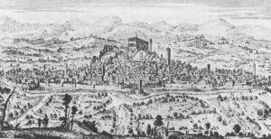 La città di Udine in una rappresentazione della metà del XVIII secolo)