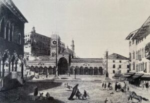 La città di Udine in una rappresentazione di Francesco Beretta (metà XVIII secolo)