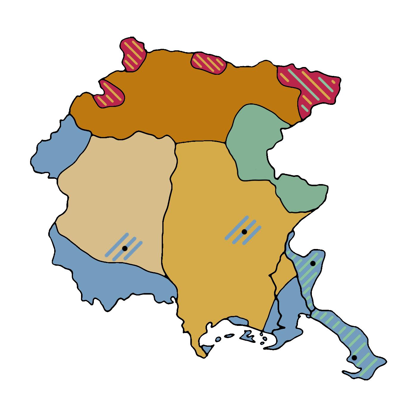 Mappa del plurilinguismo in Friuli Venezia Giulia